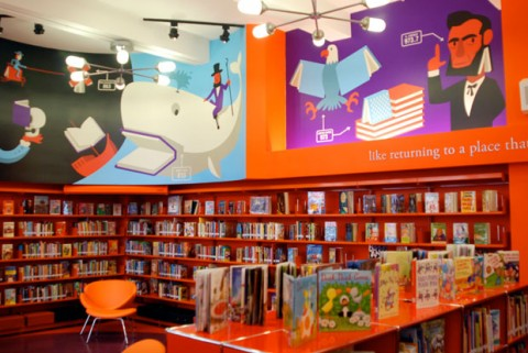 Elementary+school+library+design