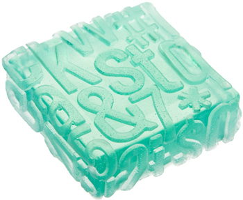 typography soap