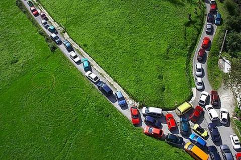 Traffic Jam Art Installation