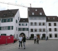 Old Basel Houses