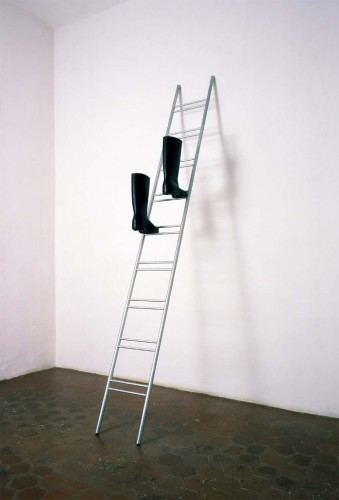 Leiter by Roman Signer