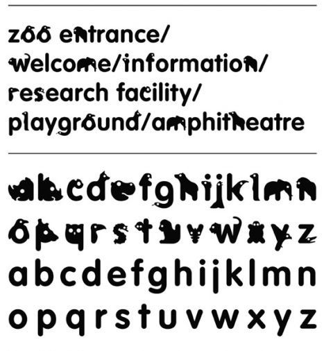 Zoological Typeface