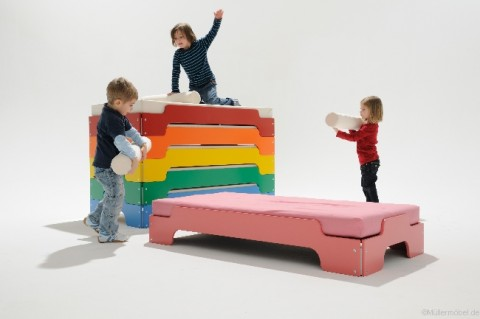 stacking bed for kids