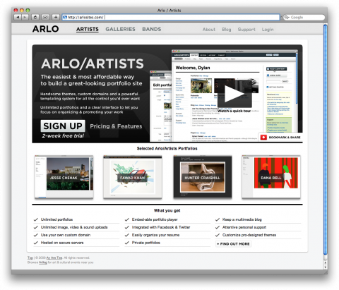 arlo/artists