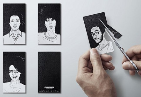 business cards for hairdresser school