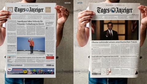 Tagesanzeiger redesign