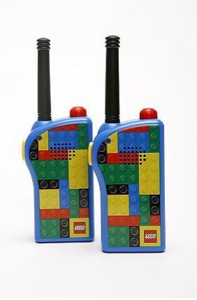 Lego Walkie Talkie