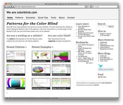 wearecolorblind.com screenshot