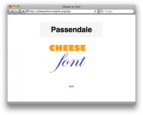 cheese or font screenshot