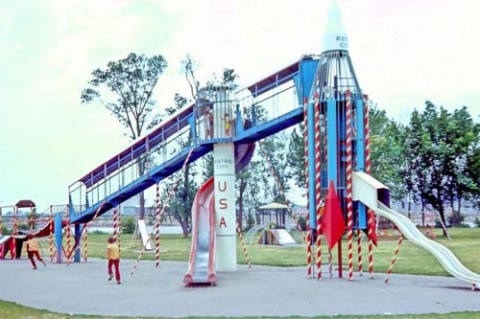 playground from the 70s