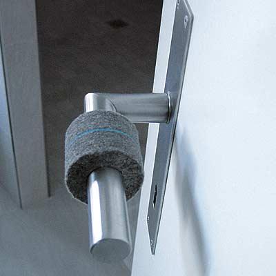Swiss Felt Door Handle Protector. Umgewohnt Umgewohnt Umgewohnt