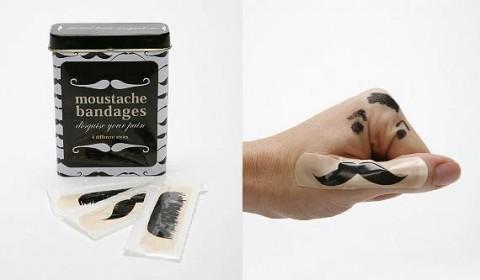 Mustache-Bandages