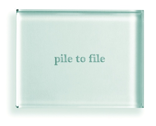 Pile to File