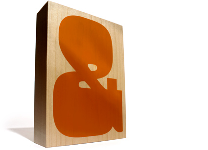 Maple Ampersand Print