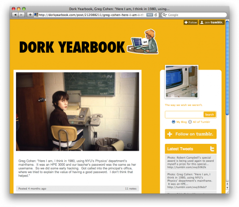 swissmiss | Dork Yearbook