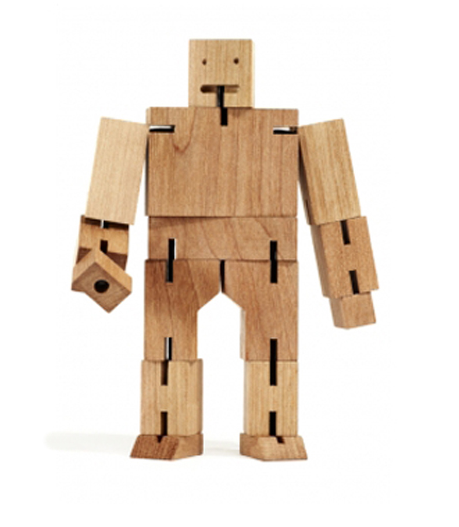 Ikea Hochstuhl Gulliver Preis ~ Check out this wooden, minimalist Robot Man  Love at first sight? Yes