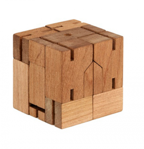 Robot in a cube 1 design per day - Wooden cube house plans ...
