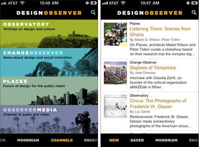 swissmiss   Design Observer iPhone App