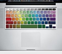 Rainbow MacBook Keyboard Decor Decal Sticker