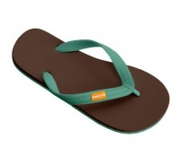 natural rubber flip flops