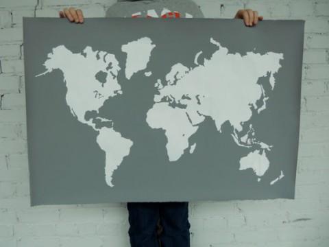 Swissmiss modern world map print modern world map print gumiabroncs Choice Image