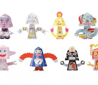 bobble head robots