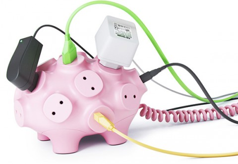 creative pig extension cord