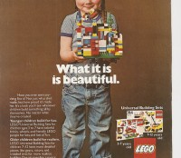 Lego Magazine ad from the year 1981.