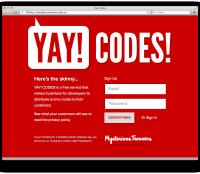 yay codes