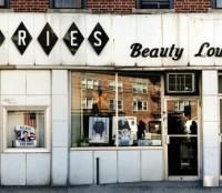 vintage nyc store facade