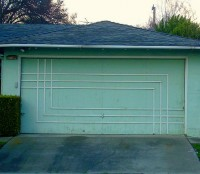 The Midcentury Garage Door