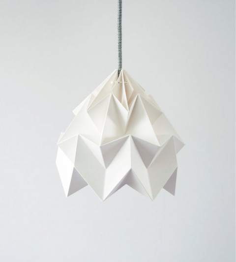 ... makes incredibly beautiful paper lamps. Get them over on Etsy