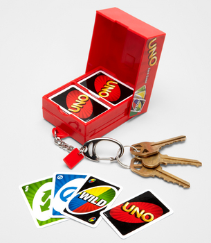 Swissmiss Mini Uno Card Game