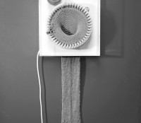 Knitting Clock