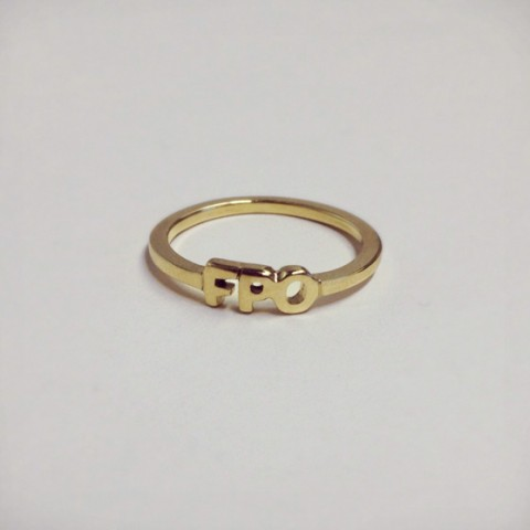 FPO Engagement Ring