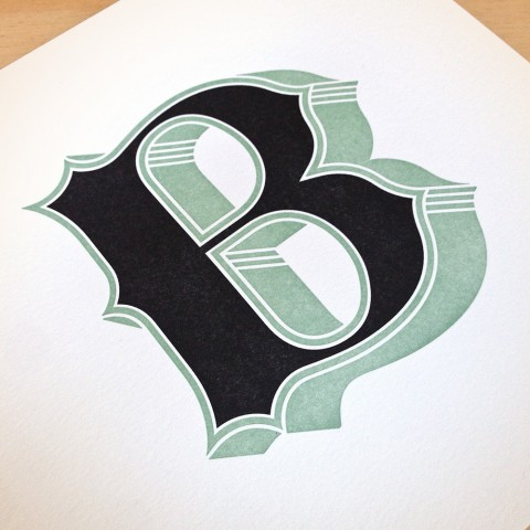 B by Jessica Hische