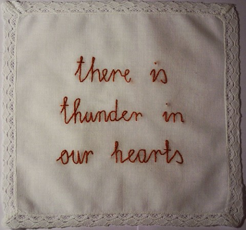 Thunder in our hearts