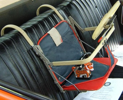 vintage car seat