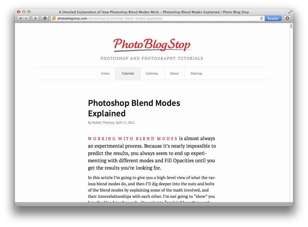photoshop blend modes explained