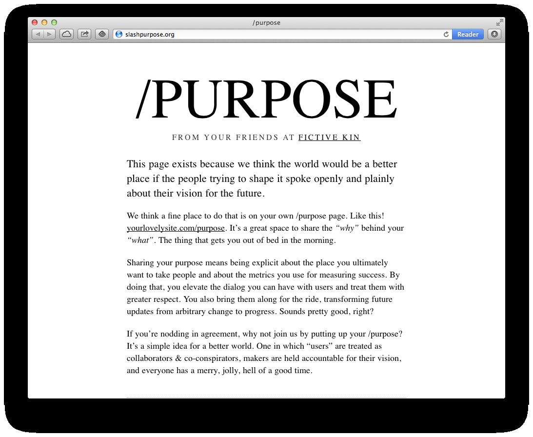 slashpurpose