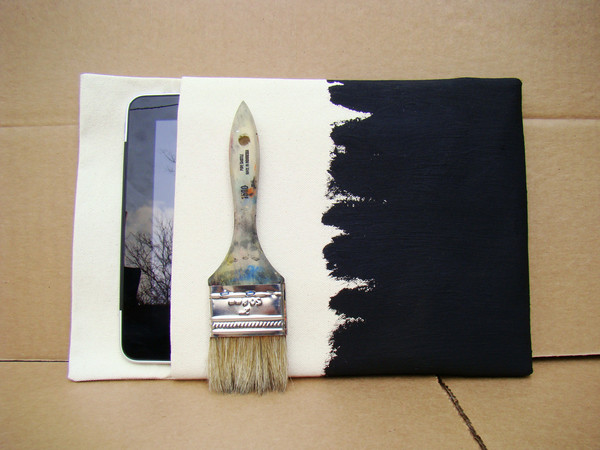 Painted iPad Sleeve