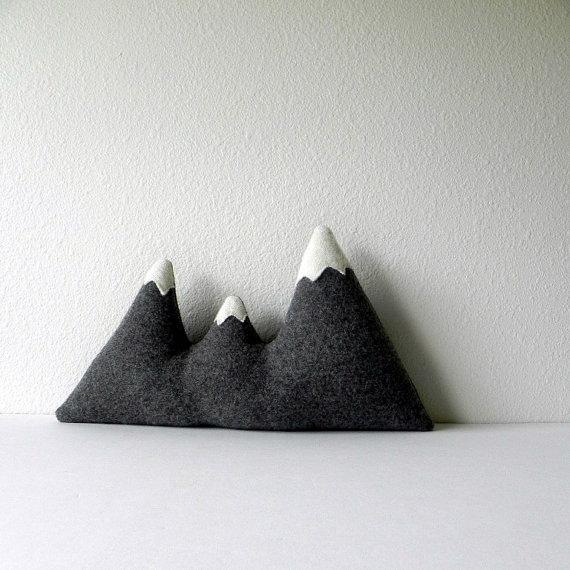 Mountain Range Pillow