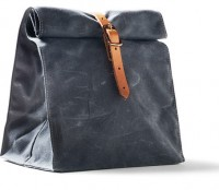 Waterproof Waxed Canvas Lunch Bag