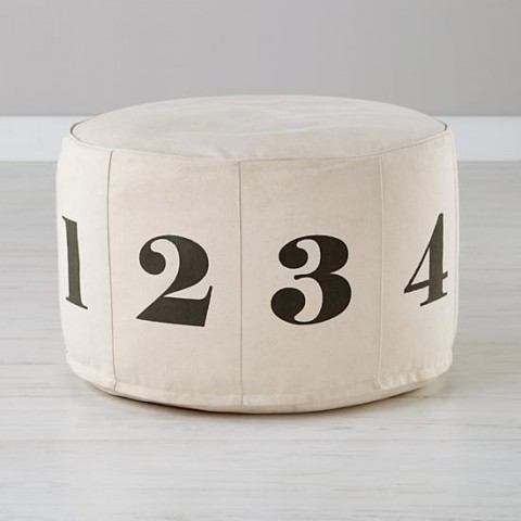 numbers-pouf