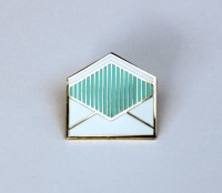 Analog mail pin