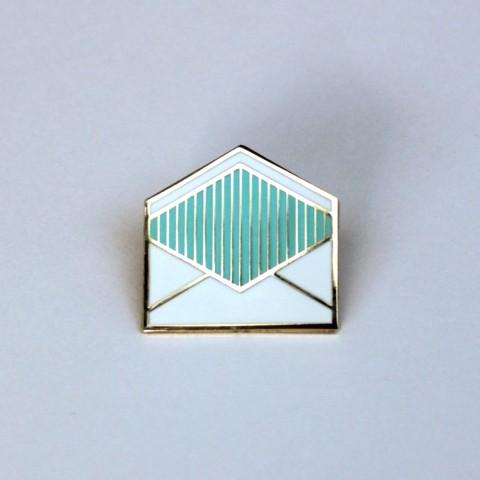 Analog mail pin