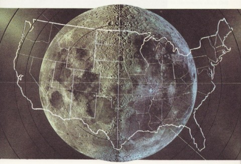 How big is our moon?