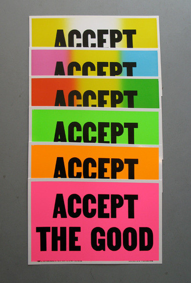 accept the good