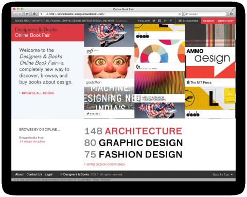 Designers & Books Book Fair