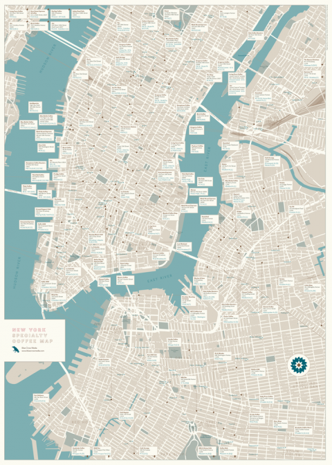 new york specialty map